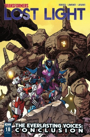 Transformers News: IDW Transformers: Lost Light Issue 18 RI Cover Revealed