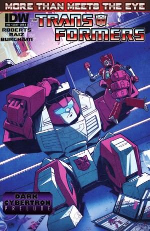 IDW Transformers More than Meets the Eye #22 Review
