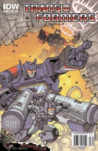 Transformers News: Transformers: Ongoing #14 Covers - Infestation Hype!