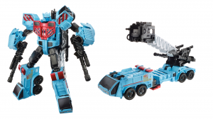 Transformers News: Video Review: Transformers Combiner Wars Hot Spot and Defensor