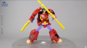 Transformers News: First Video Review and More In Package Pictures of Nezha : Transformers Nezha Toy
