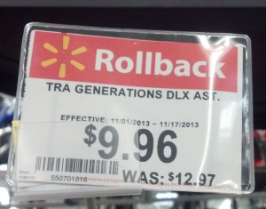 Transformers News: Transformers Deluxe Rollback at Wal-Mart