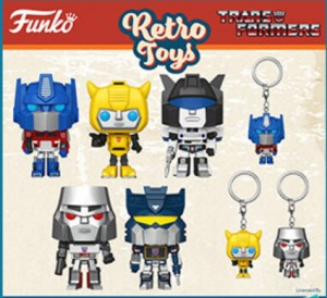 New BigBadToyStore Newsletter Highlights Upcoming Funko Pop Transformers