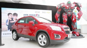 Transformers News: Transformers: Age of Extinction Chevrolet Trax Character Name Revealed