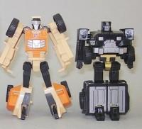 Transformers News: Toy Images of HFTD Tracker Hound & Sandstorm