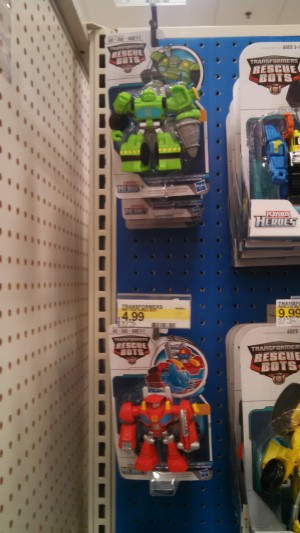 Transformers: Rescue Bots Feature Bots Wave Sighted at US Retail