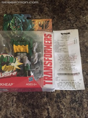 Transformers News: Age of Extinction Power Battlers Junkheap found at TJ Maxx