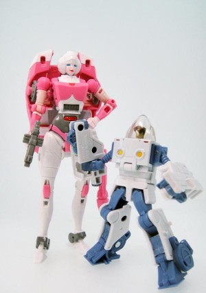 Transformers News: In-Hand Images - Takara Tomy Transformers Legends Chromia and Arcee