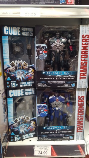 Transformers News: Transformers: The Last Knight All Spark Tech CUBE Powers Figures Spotted In the US!