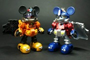 Transformers News: Takara Disney Label Mickey Mouse Halloween Version Toy Images