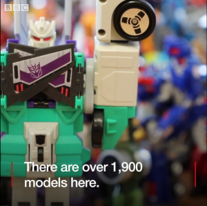 BBC North West Showcases Alleged Biggest Transformers Collection