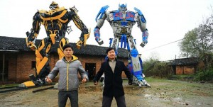 Transformers News: Chinese Farmers Become Junkions, Build And Sell Their Own Transformers