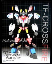 """Video Review of Fansproject Superion Add-on Kit """"Snowman Version"""""""