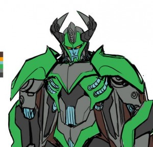 IDW Transformers: Till All Are One Liege Maximo Design by Sara Pitre Durocher