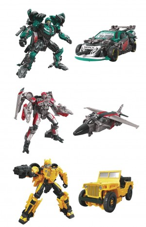 Transformers News: Studio Series Roadbuster, Jet-Mode Shatter, and Jeep Bumblebee Figures Revealed