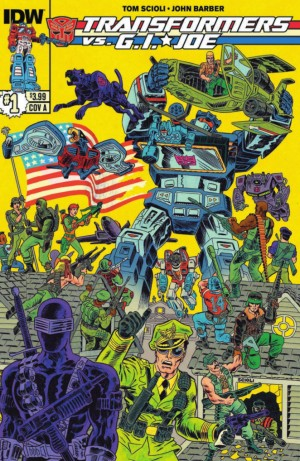 Transformers News: IDW Transformers vs G.I. Joe #1 Preview