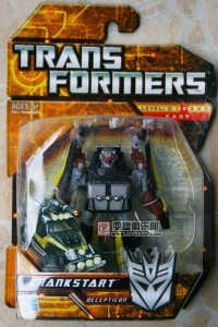 Transformers News: In-Package Images of Movie Scout Crankstart