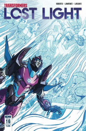 Transformers News: Variant Cover for IDW Transformers: Lost Light #16 by Milne and Perez
