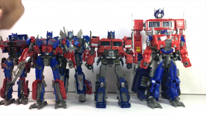 Transformers News: Video review of Studio Series Voyager Class 38 Bumblebee Optimus Prime with transformation and more