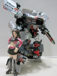 Transformers News: In-Hand Images: Takara Tomy Super GT-03 GT-R Megatron
