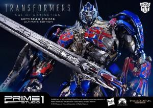 Transformers News: Prime 1 Studio Museum Masterline MMTFM-08 Ultimate AOE Optimus Prime