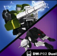 Transformers News: Dr. Wu's DW-P02 Duel Packaging and Release Info