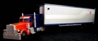 Transformers Movie Trilogy Line Deluxe Optimus Prime with Trailer Images
