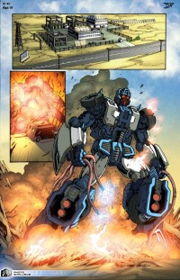 """Transformers News: First page of IDW's NEW Transformers """"ongoing"""" comic series"""