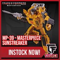 TFSource News! MP-39 Sunstreaker, MP-15E-16E, MP-10B, PE Gorira Prime, FansToys, MMC Collisus & More