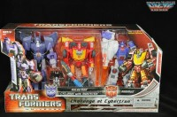 Transformers News: First In-Package Image of Challenge at Cybertron Set