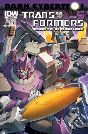 Transformers News: Sneak Peek - Transformers: Robots in Disguise #24 (DC5)