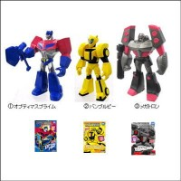 Takara Animated Figurines and Collectible Cards