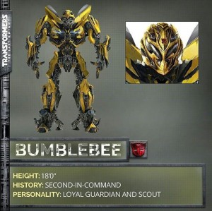 Transformers 5: The Last Knight Bumblebee revealed!