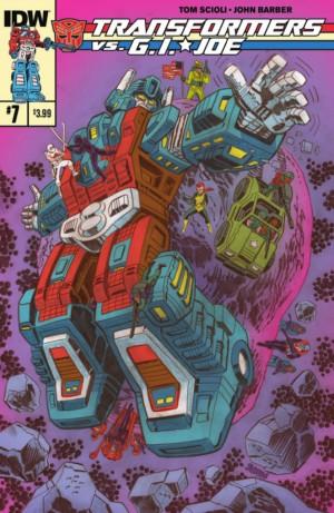 Transformers vs G.I. Joe issue 7 full preview
