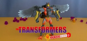 New Video Review of Transformers Kingdom Deluxe Class Airazor