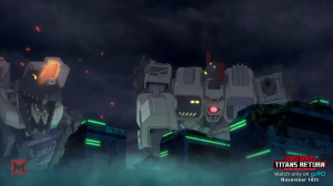 Transformers News: Preview Clip for Machinima Transformers Titans Return: Size Does Matter
