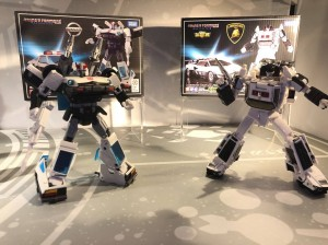 Transformers News: Takara Masterpiece Display at ACG Hong Kong 2018 with Prowl, Shockwave, Shadow Panther, Cordon #ACGHK2018