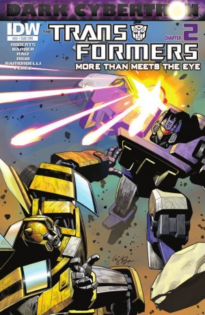 Transformers News: IDW Transformers: More than Meets The Eye #23 (Dark Cybertron 2) Review