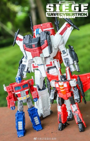 Transformers News: New Transformers Siege Jetfire Images