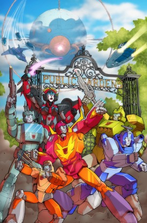 Transformers News: Exclusive Giant Robots Comics (Halifax) Variant Cover - Casey Coller, JP Bove