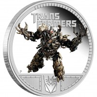 Transformers News: Perth Mint:Transformers Dark of the Moon coins