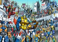 Transformers News: 2010 Botcon Lithograph Revealed