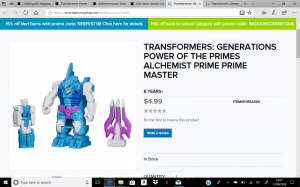 Transformers News: Transformers Power of the Primes Prime Masters Wave 2 now online at Hasbro Toy Shop