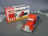 Transformers News: Takara Tomy Tomica Transformers Prime 142 Bumblebee and 147 Optimus Prime Vehicles