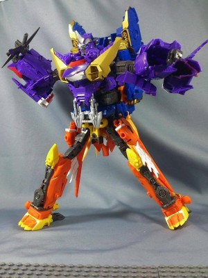 Transformers News: In-Hand Images: Takara Tomy Transformers Go! G20 Sensuimaru and Swordbot Shinobi Team Combined