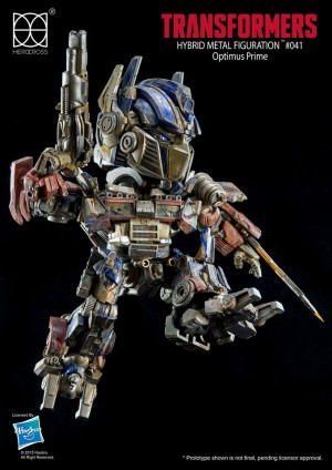 Herocross HMF#041 Transformers Optimus Prime EVASION MODE Revealed