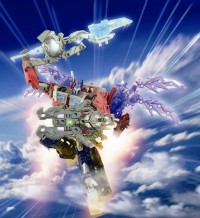"Transformers News: Transformers Prime Arms Micron ""Sky Wing Optimus Prime"""