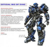 "Transformers News: Transformers: The Ride ""Introduction to EVAC"""