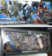 In-Hand Image: Takara Tomy Transformers United Seekers: Elites Box Set