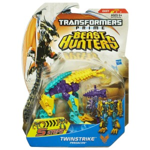 Transformers News: Updated Official Images: Transformers Prime Beast Hunters Simplified Deluxes Windrazor, Twinstrike, Smokescreen, & Bumblebee